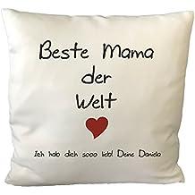 """Kissen /""""Lieblingsmama/"""" Geburtstagsgeschenk Geschenk zum Muttertag zu Weihnachten"""