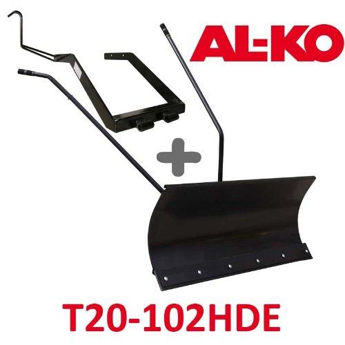 Lame à Neige 118 cm Noire + adaptateur pour AL-KO T20-102 HDE