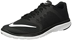 Nike Mens Fs Lite Run 3 Black and White Running Shoes -10 UK/India (45 EU)(11 US)
