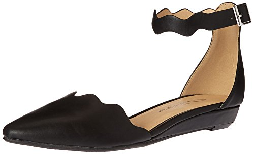 CL by Chinese Laundry Women's Studio Pointed Toe Flat, Dark Taupe Suede