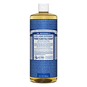 Dr. Bronners Peppermint 946 ml (sapone)