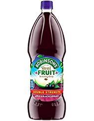 Robinsons Double Concentrate Apple & Blackcurrant Squash, 1.75 L