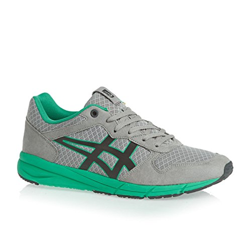Onitsuka Tiger Homme Shaw Runner Trainers, Gris Gris