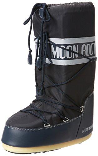 Moon Boot Nylon Unisex Schneestiefel, 45-47 EU, Blau (Denim Blue 064)