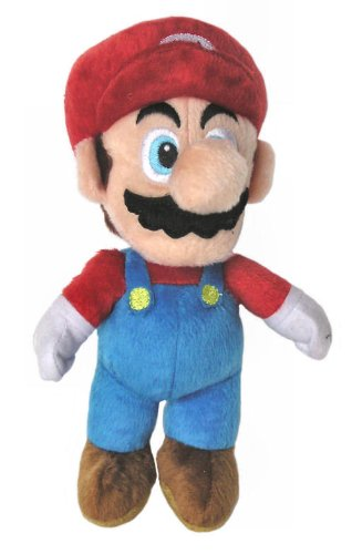 Preisvergleich Produktbild Super Mario Plüsch Figur - Mario 24 cm
