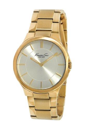 Kenneth Cole KC4876 - Reloj para Mujeres, Correa de Acero Inoxidable Color Dorado