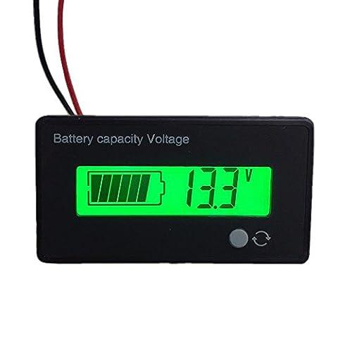 Batterie au plomb acide 12V jauge de carburant, Abura 12V