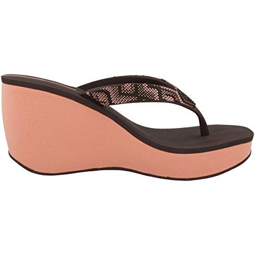 Ipanema Damen Lipstick Bolero Fem Zehensandale pink-brown (81936-8092)