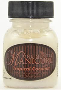 ONE MINUTE MANICURE - Gommage Mains Pieds & Corps - COCONUT 56g