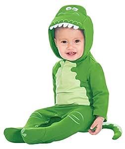 Fancy Me Baby Jungen Mädchen Offiziell Toy Story Disney Rex Grüner Dinosaurier Film Welttag des Buches Halloween Tier Kostüm Kleid Outfit 0-12 Months - 3-6 Months