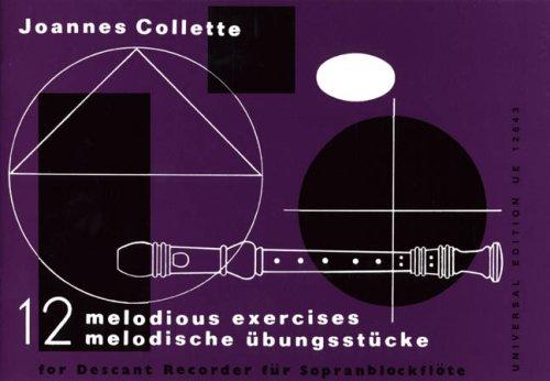 12 melodious exercises / 12 melodische übungsstücke