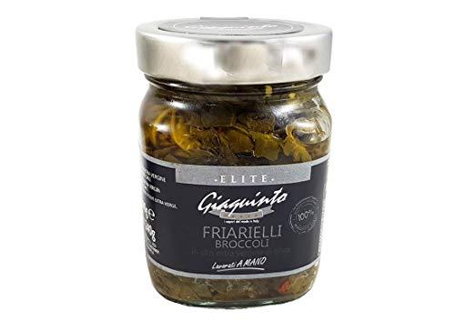3 barattoli elite prodotti selezionati conserve giaquinto (broccoli - friarielli)