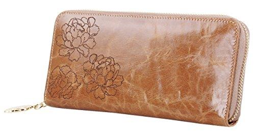 lh-saierlongr-womens-zipper-wallet-apricot-cowhide-genuine-leather-wallets