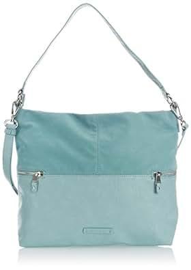 Esprit Womens Eve Hobo Shoulder Bag 054EA1O013 Dark Frozen Mint