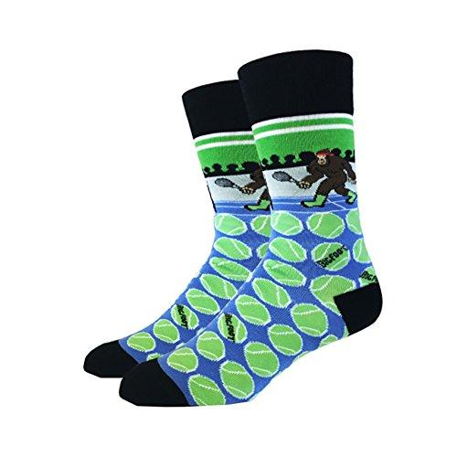 Tennis Bigfoot One Size passt für die meisten Crew-Socken
