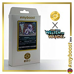 Absol 133/236 Holo Reverse - #myboost X Sonne & Mond 12 Welten im Wandel - Box de 10 cartas Pokémon Alemán