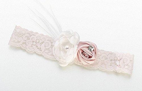 Vintage-Strumpfband-Blush. Toll als Hochzeitsandenken, Geburtstag, Baby Dusche Geschenke, Weihnachts Strumpf Füllstoffe Und Mehr...