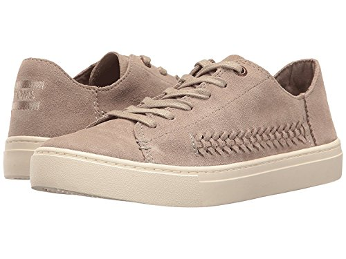 TOMS Womens Lenox Low Top Lace up Fashion Sneakers (10, Oxford Tan Braided Suede)