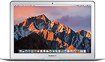 Apple Macbook Air Laptop 13 inches LED Laptop (Silver) - Intel Core i5 1.8 GHz, 8 GB RAM, 128 GB SSD, Intel Hd Graphics...