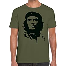 Funky NE Ltd Che Guevara Classic Tshirt - 100% Cotton - Small to XXL - 9 Colours - Great Gift Idea