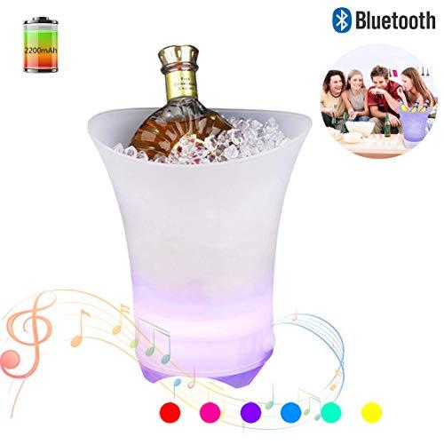 luetooth Lautsprecher, 7 Farbverlauf Nachtlicht 360 ° Stereo Surround Für Strand, Party, Draussen, Familienhochzeit ()