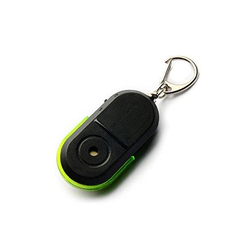 HanDingSM Key Finder whistle Tastenfinder Whistle Sound Control, 2 Pack (Grün) - Hd Keys
