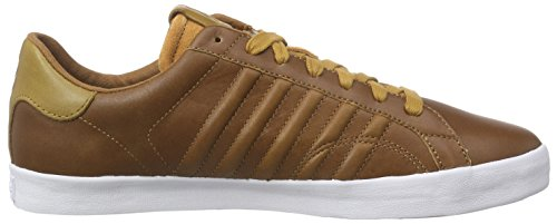 K-Swiss Herren Belmont P Sneakers Braun (Brown/Golden Brown/White 299)