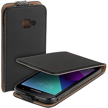 mumbi Echt Ledertasche kompatibel mit Samsung Galaxy
