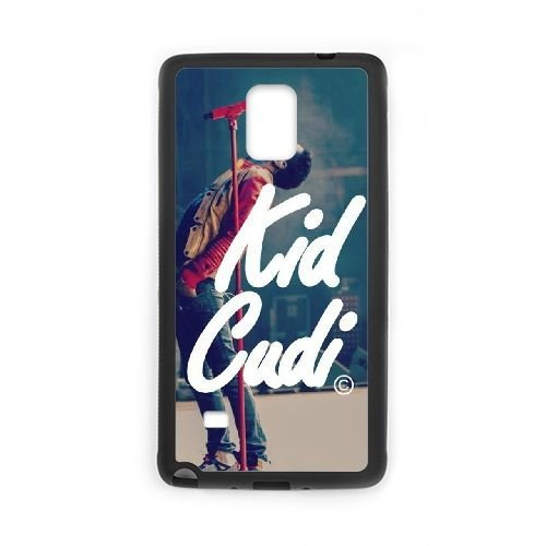 Wlicke Kid Cudi Custom Durable samsung galaxy note4 Case, New Fashion Protective Cove Case for samsung galaxy note4 with Kid Cudi