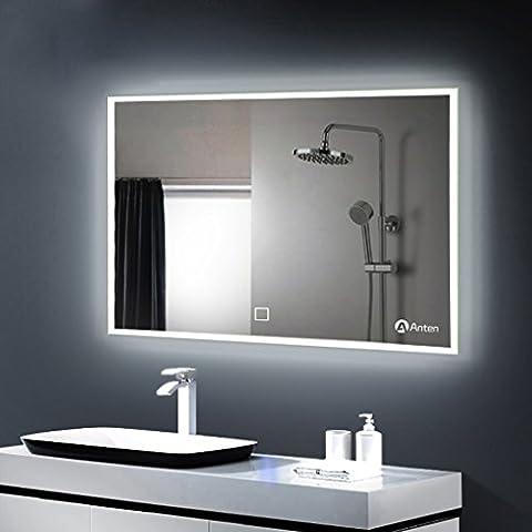 Anten® Elégant 25W Lumière Miroir LED 6000K Blanc IP65 Miroir