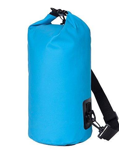 GXS Outdoor Aktivitäten Unisex Wasserdichte Taschen Driften Outdoor Tourismus Reise Pakete Barrel Beach Staubbeutel (verschiedene Farben) Gelb - gelb