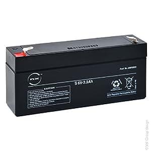 NX - Batterie plomb AGM S 6V-3.2Ah 6V 3.2Ah T1 - Unité(s)