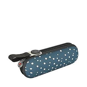 Knirps X1 Taschenschirm – Uni – inkl. Eva-Hardcase im Schirmdesign – 100% Polyester – Hochqualitative Verarbeitung…
