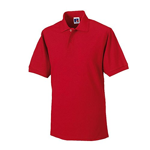 Russell - robustes Pique-Poloshirt - bis Gr. 6XL / Classic Red, L L,Classic Red