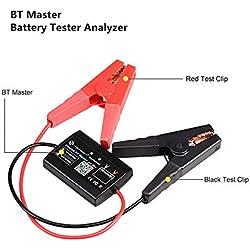 RISHENG BT testeur de Batterie Principale sans Fil Bluetooth Scanner 4.0 12V Outil de Diagnostic Moto Camion Lourd PK BA101