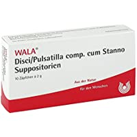 Disci/Pulsatilla Comp. cum Stanno. Suppositorien 10X2 g preisvergleich bei billige-tabletten.eu