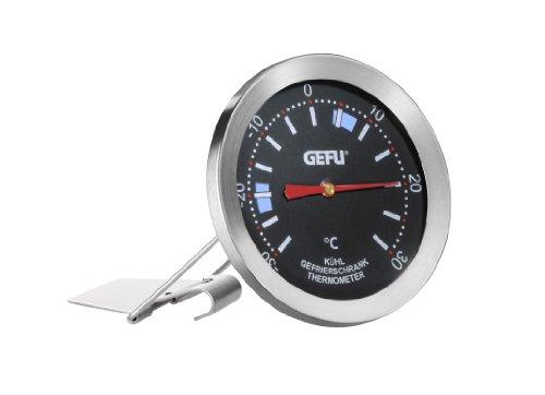 Gefu 21890 Gefrier-/Kühlschrankthermometer Messimo