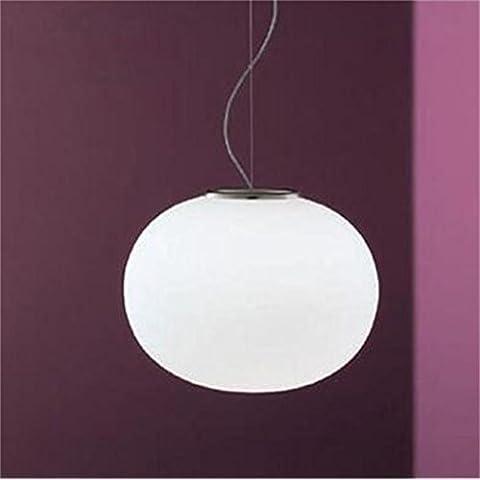 Mini sfera di lampadario vetro piano minimalista di illuminazione a