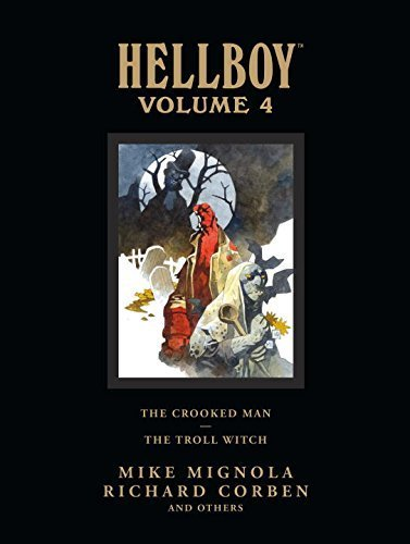 Hellboy Library Edition, Volume 4: The Crooked Man and The Troll Witch by Mignola, Mike (2011) Hardcover