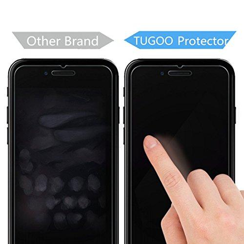 Pellicola Protettiva iPhone 7 TUGOO iPhone 7 Pellicola Vetro Temperato, 3D Toccare Compatibile, 9H Durezza ultra resistente Vetro Temperato Screen Protector per iPhone 7 Vetro Temperato iPhone 7