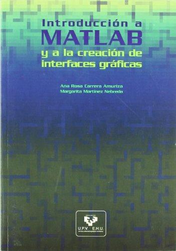 Introducción a MATLAB y a la creación de interfaces gráficas