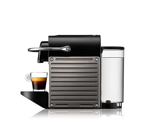 Nespresso Pixie con Aeroccino XN301T macchina per caffè espresso di Krups, colore Electric Titan - 2
