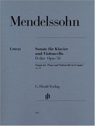 Sonate Opus 58 Ré Majeur ---  Violoncel...