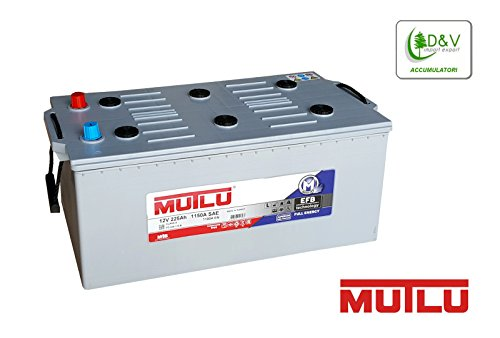 BATTERIA MUTLU 225Ah 1150A (EN) 12V EFB FULL ENERGY DEEP CYCLE