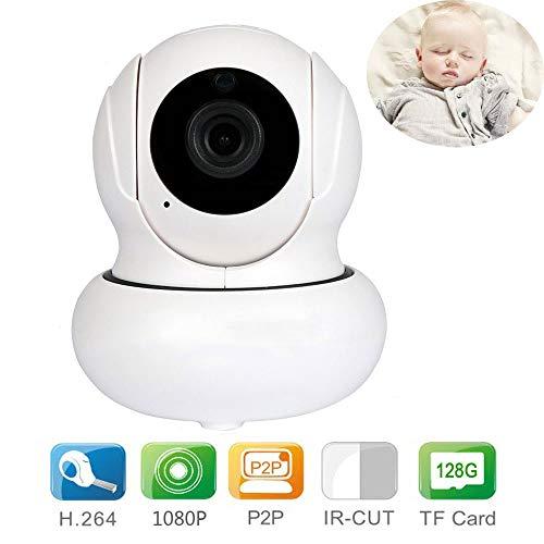 WDXIN Babyphone mit Kamera Digital Video 1080P Zwei-Wege-Stimme P2P Speicherkarte mit großer Kapazität WLAN-Netzwerkkamera Geeignet zur Überwachung der Sicherheit von Kindern