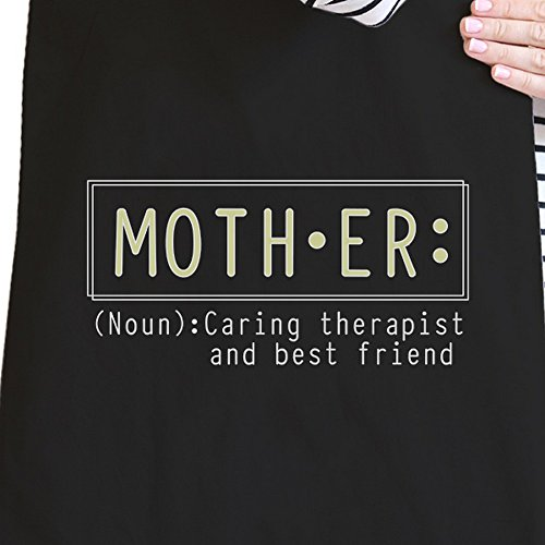 365 Printing inc , Borsa da spiaggia  Donna My Name Is Mom Mother Therapist And Friend