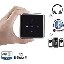 VICTORSTAR @ Transmisor y Receptor de Audio, Control Táctil Bluetooth V4.1 Adaptador, Apoyar dos Auriculares Bluetooth O Altavoces Simultáneamente Para TV, CD, iPod, MP3, MP4, Coche o Estéreo Casero