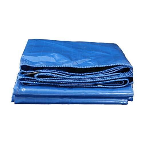 YHDD Planen- Blaue Plane Regenstoff Wasserdichte Sonnencreme Starke Plane Outdoor Schatten Baldachin Tuch LKW Öl Viel Spaß beim Einkaufen (größe : 5m*6m)
