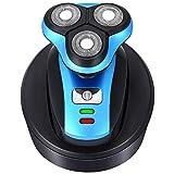 ZNDDB Elektrisch rasierer - Wiederaufladbarer, Nasser und trockener 3-D-Rasierer, ergonomischer Griff, einfache Handhabung, 10X10x10cm