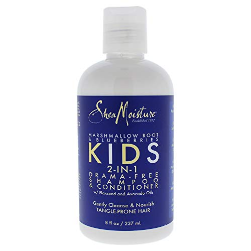 Shea Moisture Marshmallow Root and Blueberries Kids 2-in-1 Shampoo und Conditioner -